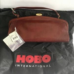 Hobo Adora Purse In Sienna With Blue Lining